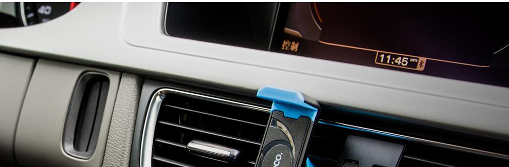 品牌汽车空调出风口通用车载手机支架