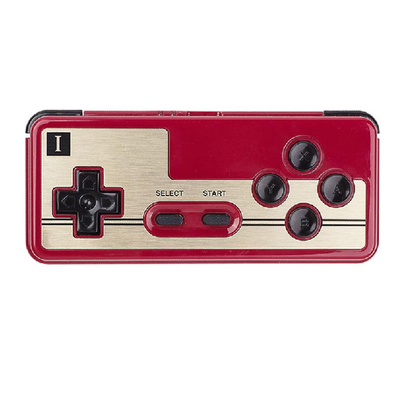 八位堂 fc30 红白机30周年纪念 蓝牙游戏手柄红色