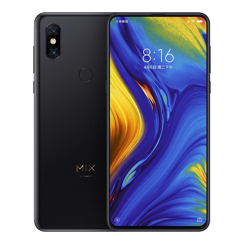 小米MIX3 全网通版 黑色 8GB+128GB,其他,3C数码家电智能收银供应链,手机供应链,小米手机