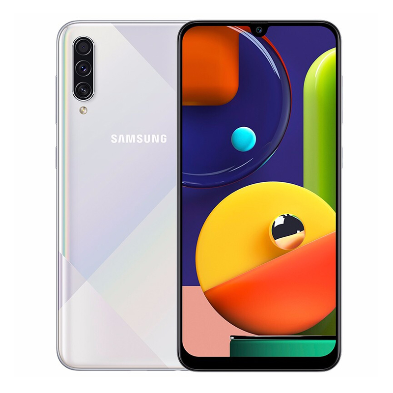 三星 Galaxy A50s 全网通版 高光白 6GB+128GB,其他,3C数码家电智能收银供应链,手机供应链,三星手机
