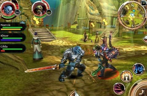 ...与gameloft之前推出的地牢猎手颇为相似只是在混沌与秩序中各...