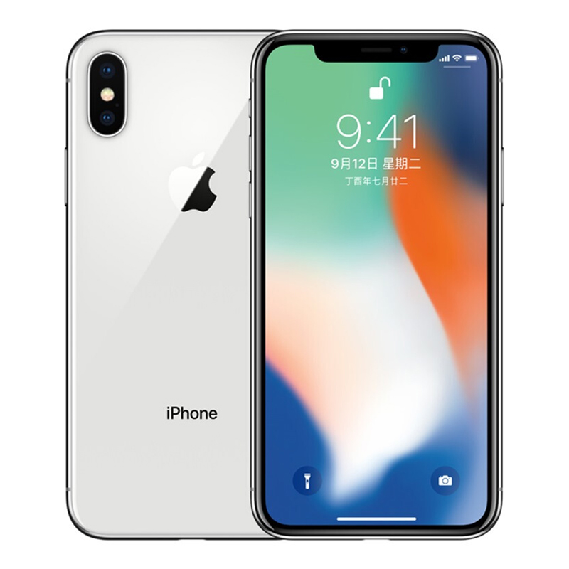 Apple iPhone X 全网通版 银色 64GB,其他,3C数码家电智能收银供应链,手机供应链,苹果手机